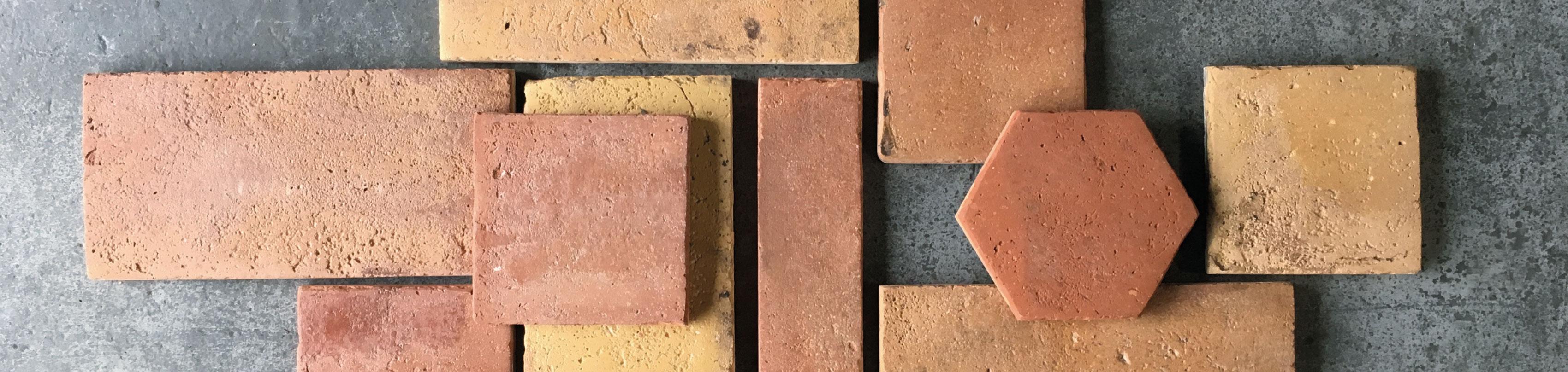 Reclaimed Terracotta Range Wall And Floor Tiles