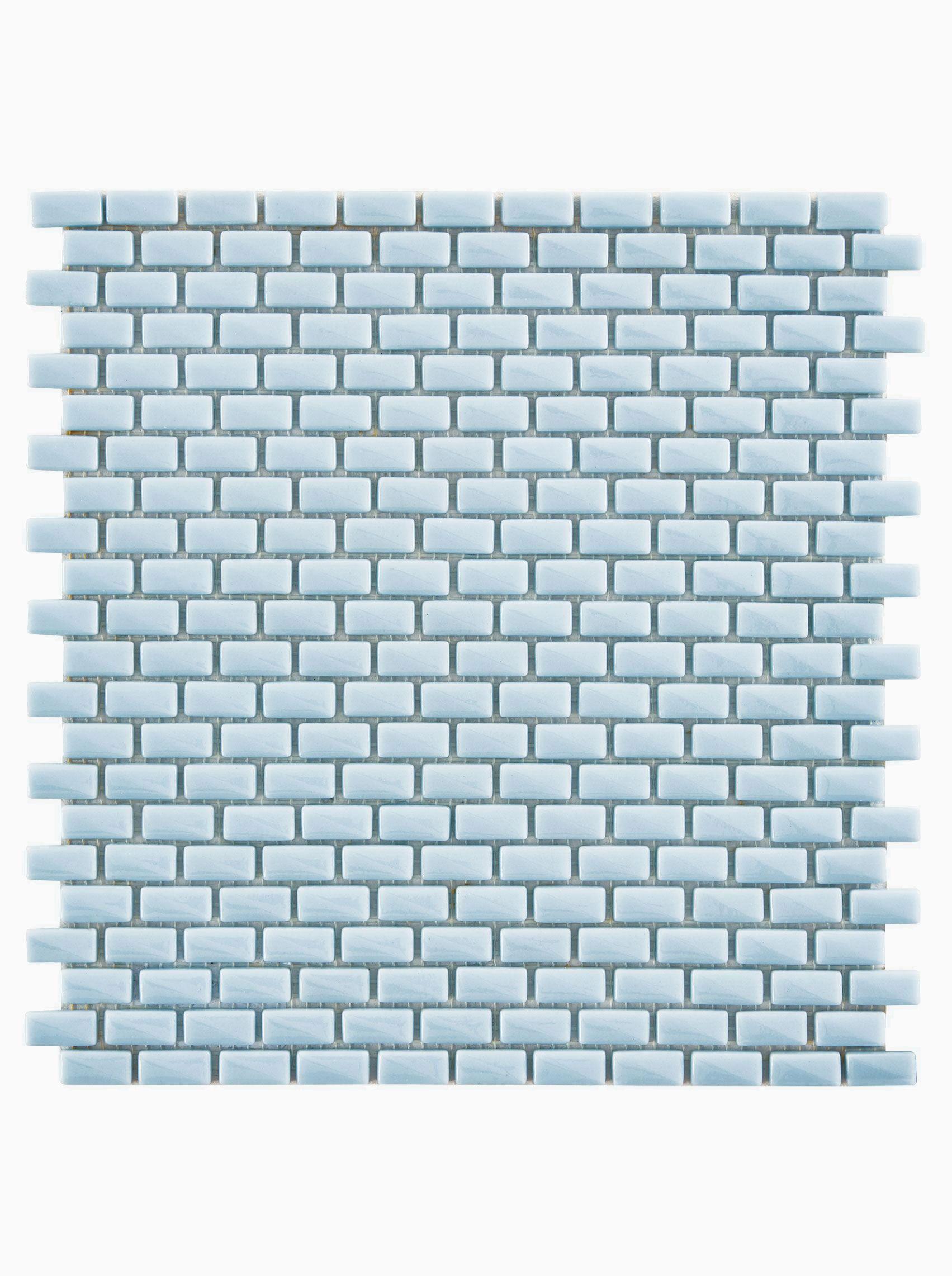 Aura Sky Mini Brick Mosaic