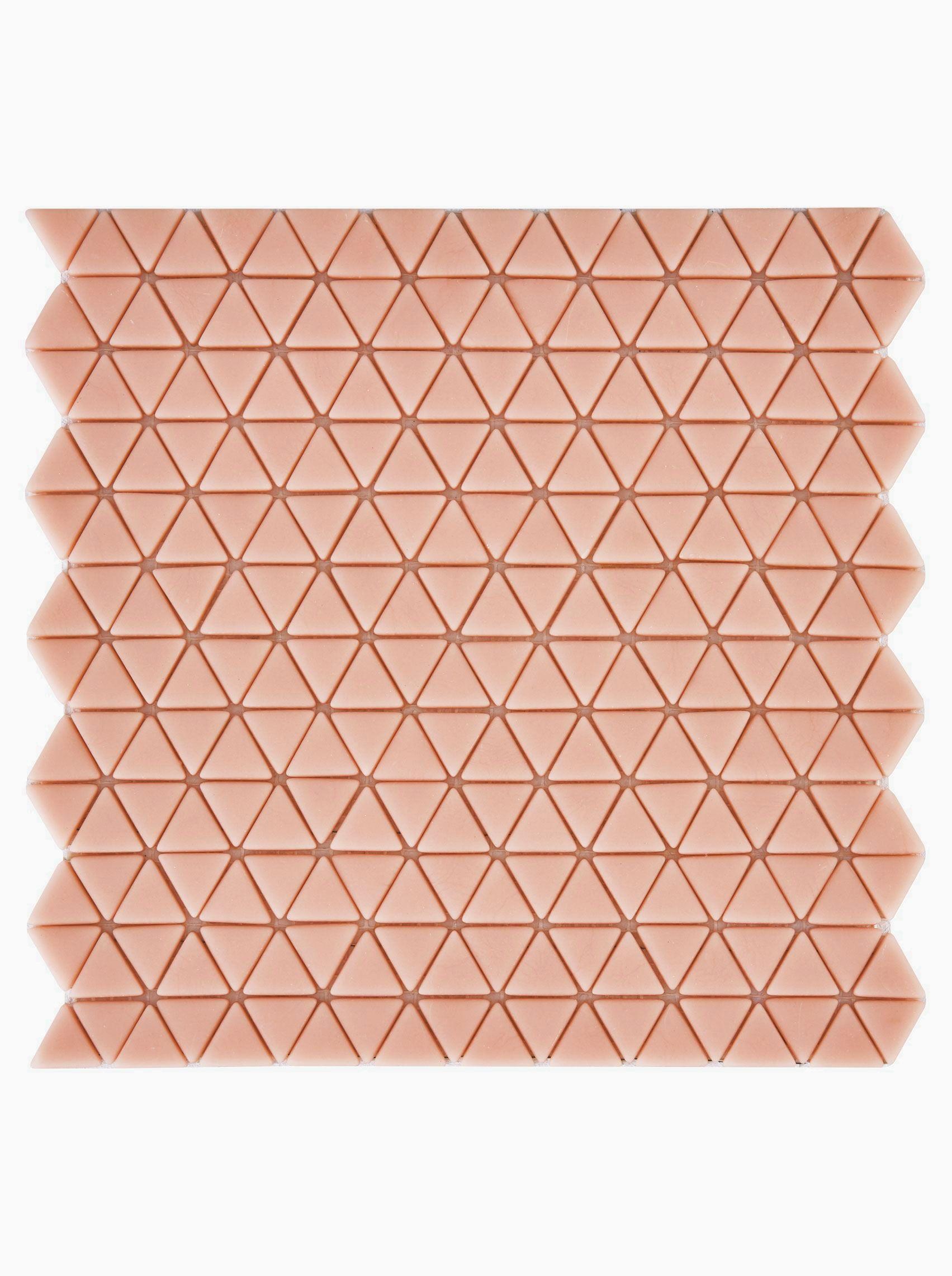 Confiserie Blush Triangle Mosaic