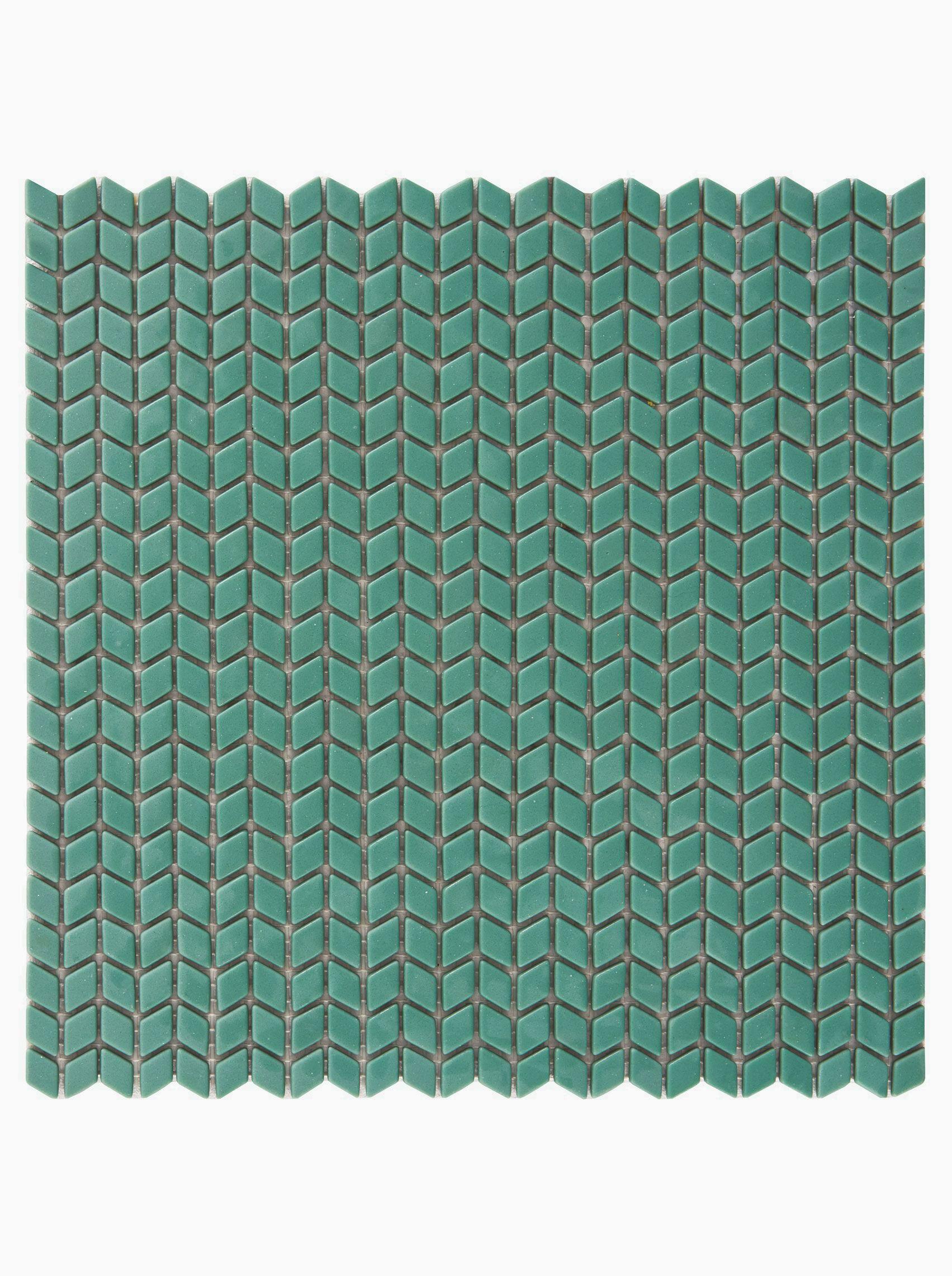 Confiserie Jade Chevron Mosaic