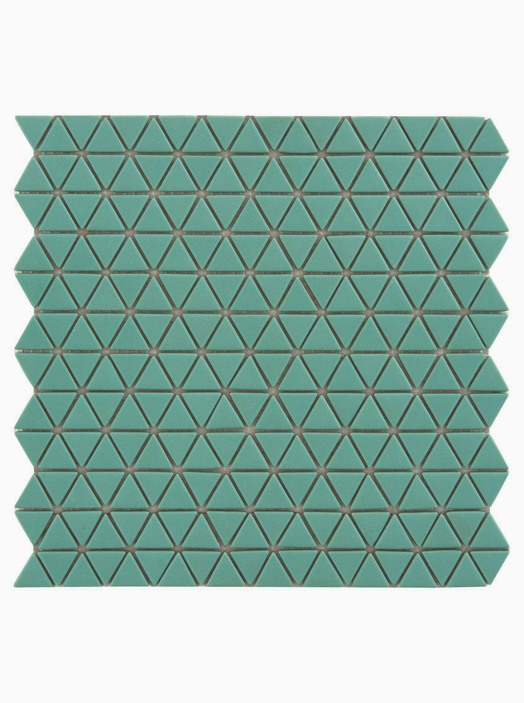 Confiserie Jade Triangle Mosaic