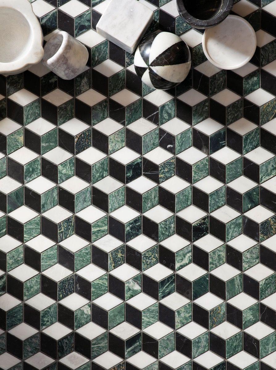 Haven Mosaics Checkers
