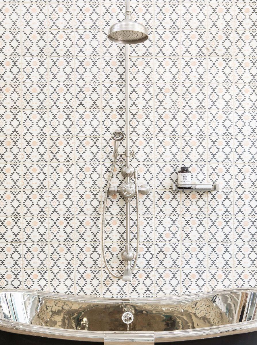 Brooklyn exposed thermostatic shower/bath set