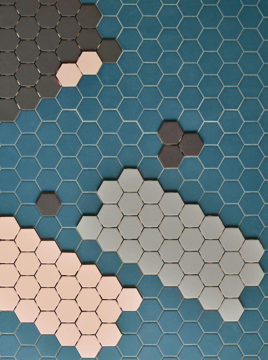 Renzo Hex Whitney Mosaic
