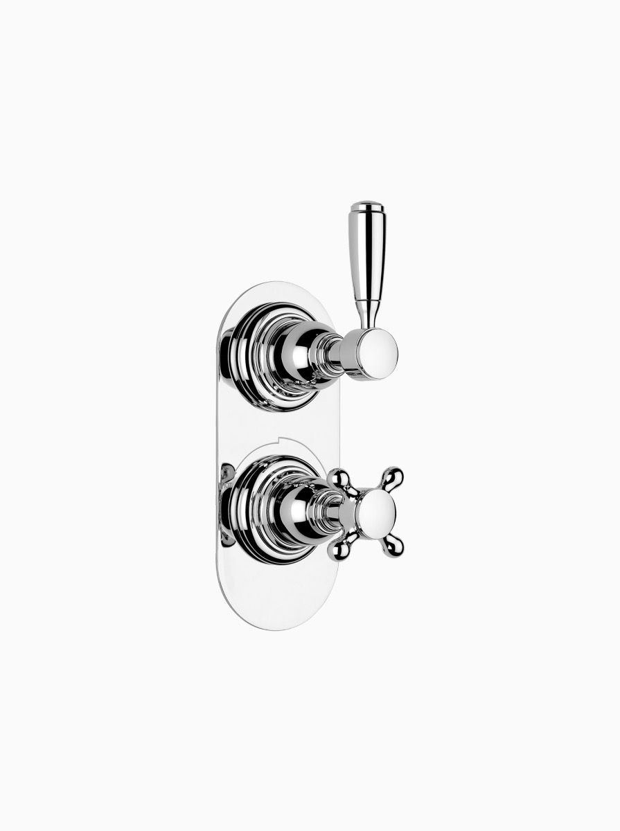 Brooklyn concealed thermostatic shower - 1 outlet