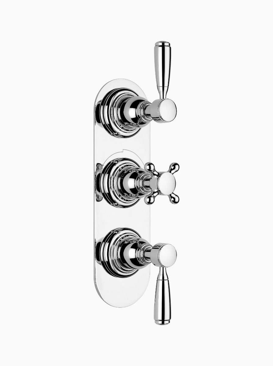 Brooklyn concealed thermostatic shower - 2 outlet