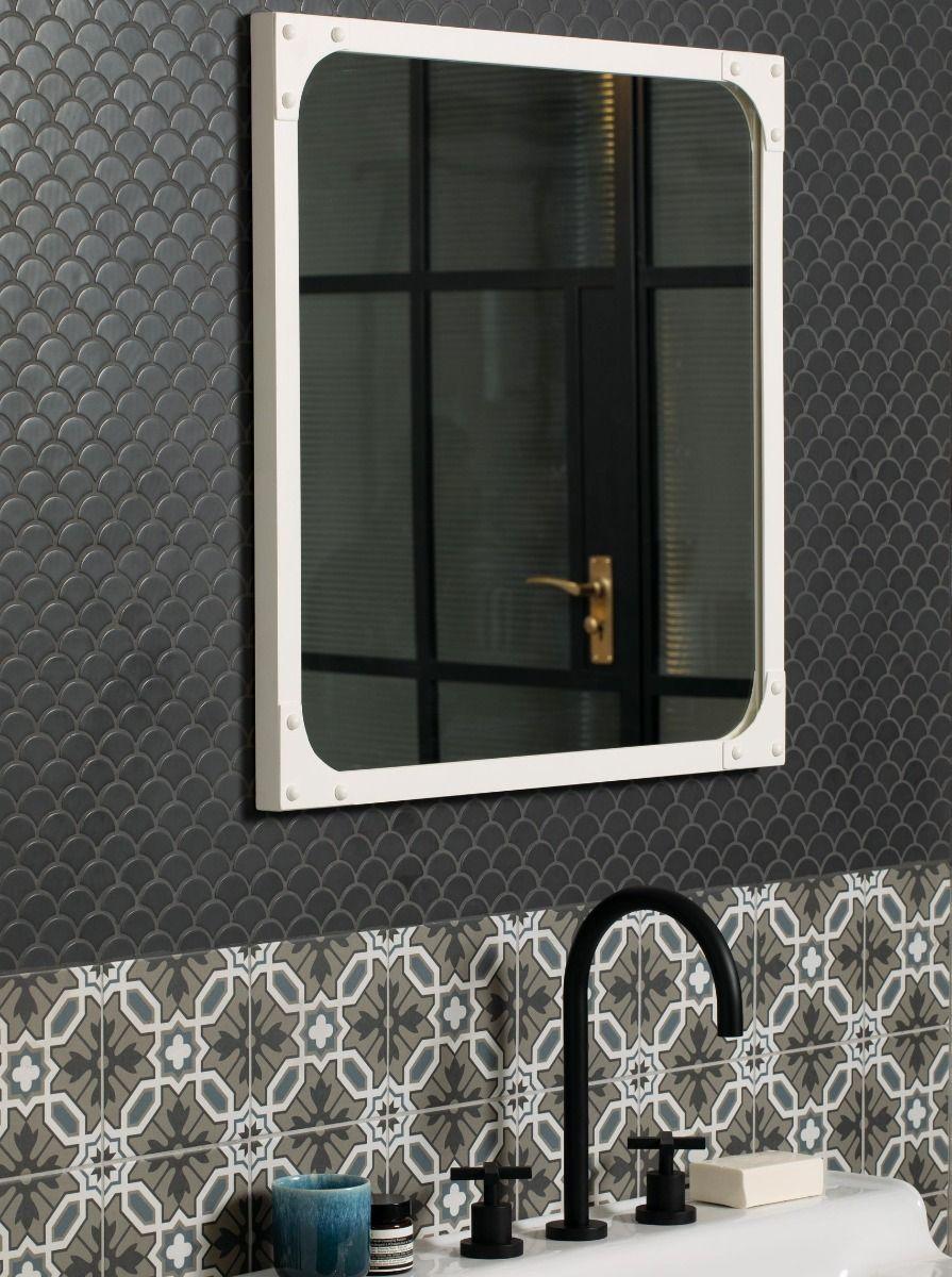 Xanadu Dark Grey Mosaic