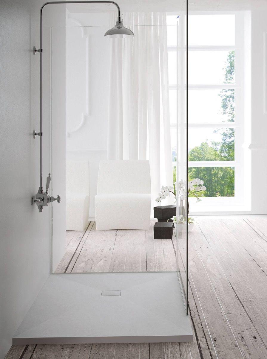 Spokane Stone Shower Tray