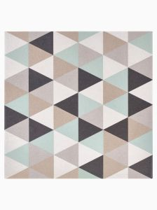 MozzafiatoScansano 20 x 20cm Porcelain Floor and Wall Tile with Decorative Pattern