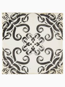 Navajo Sani handmade decorative glazed wall and floor tile