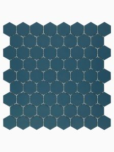 Renzo Hex Shard porcelain mosaic for floor and wall