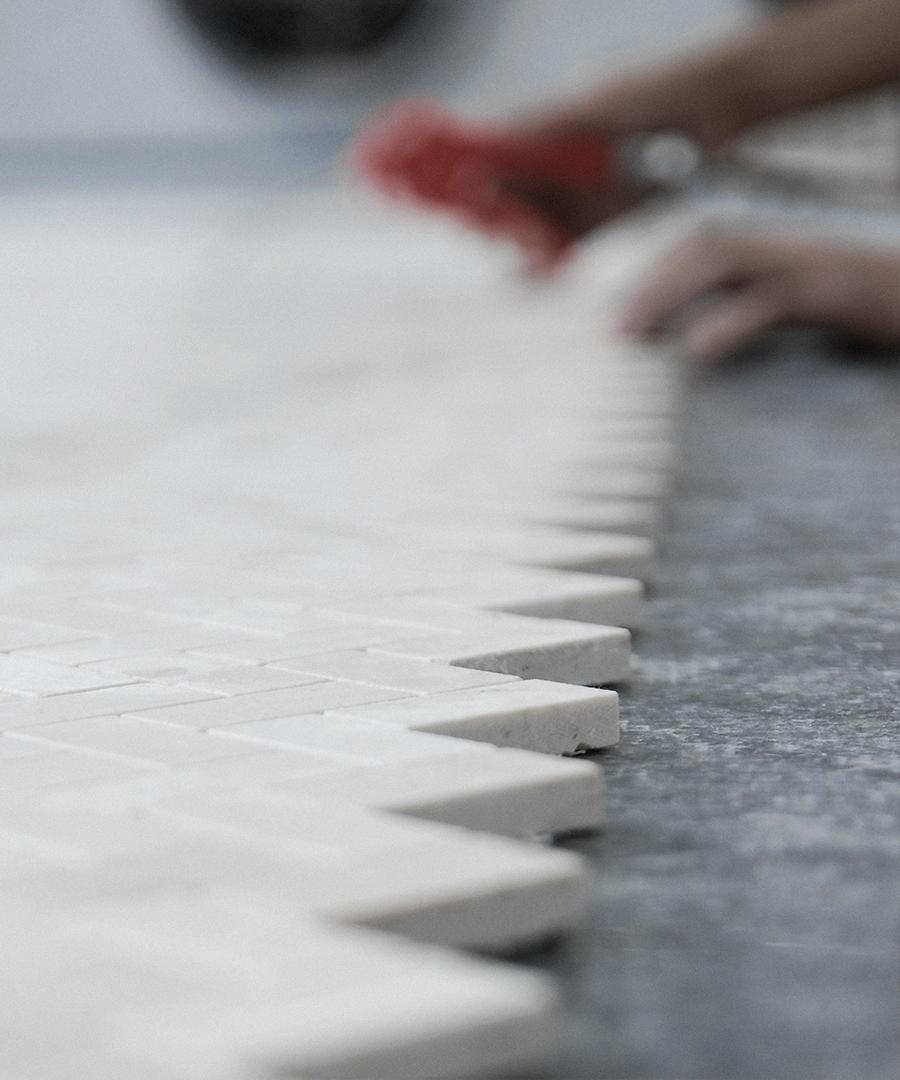 Making Marble Mosaic