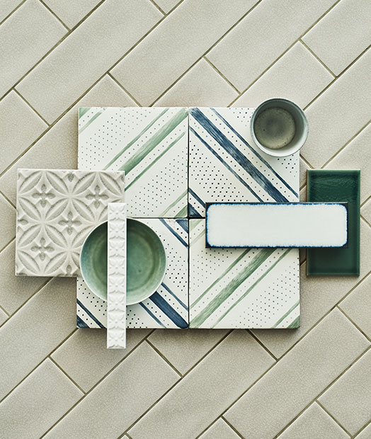 Glazed tiles
