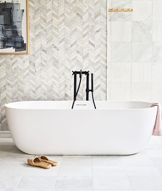 East Haven Marble Bathroom