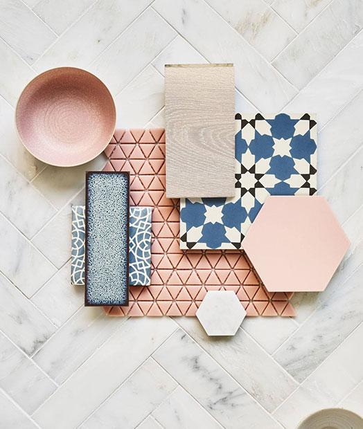 Tile Flatlay