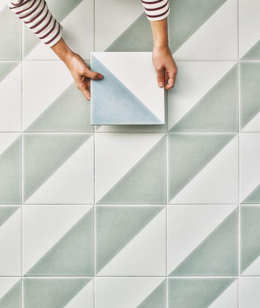 Semaphore Porcelain Floor Tiles