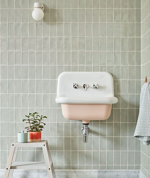 Potters Glaze Bathroom