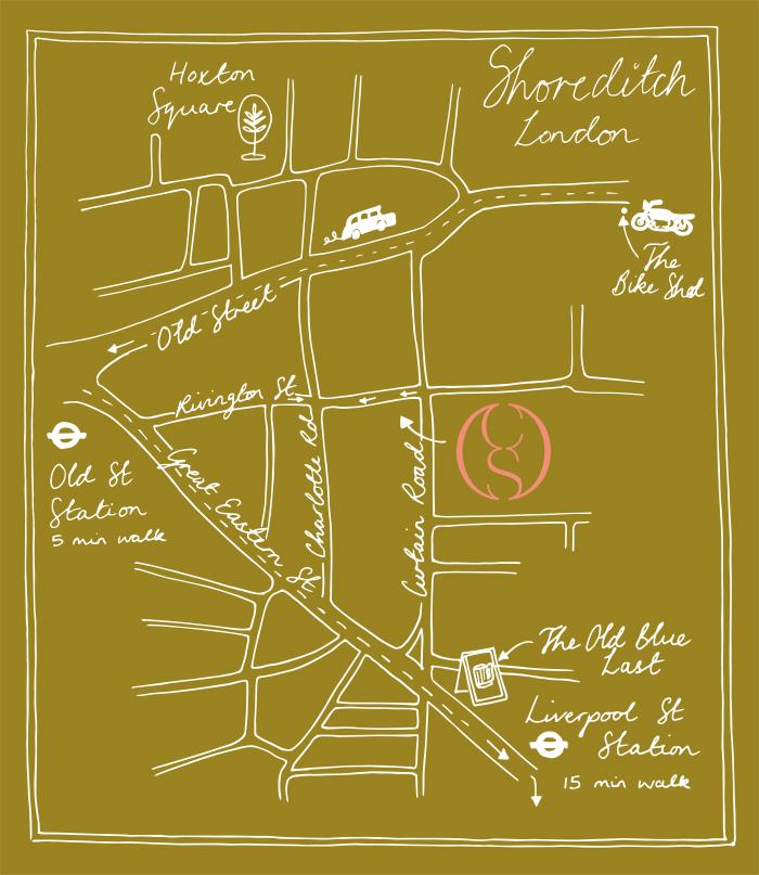 Claybrook Map