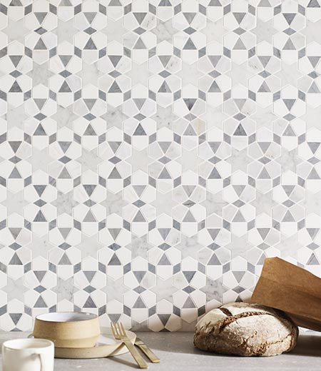 Haven Mosaic Marble Tiles