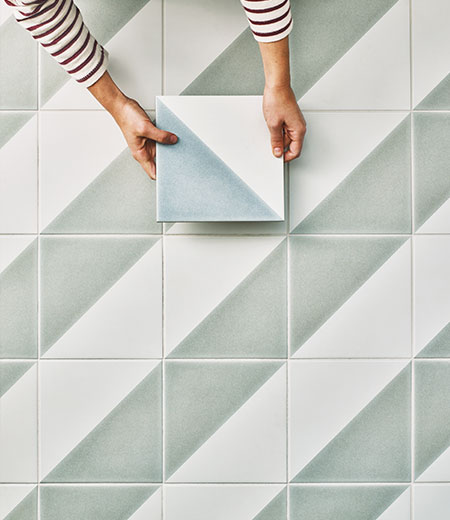 Semaphore Porcelain Floor Tiles